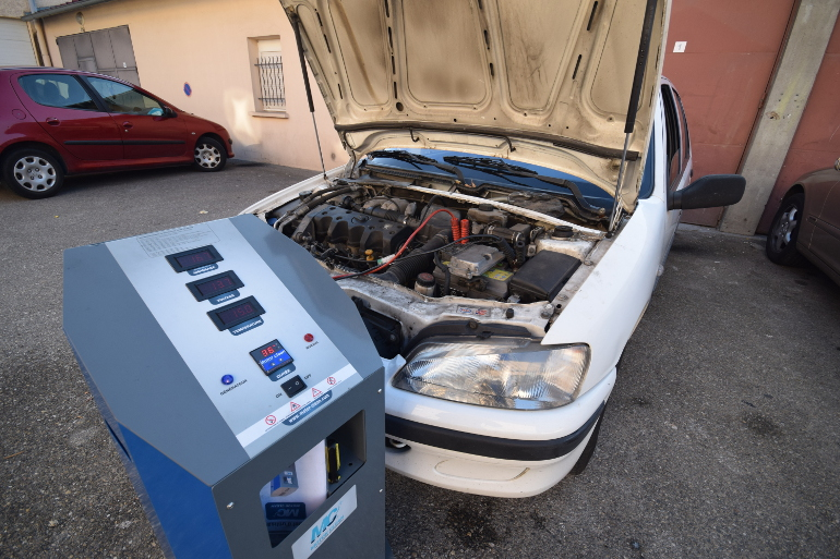 décalaminage Motor Clean Lyon
